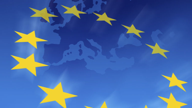 European union concept, digital illustration.